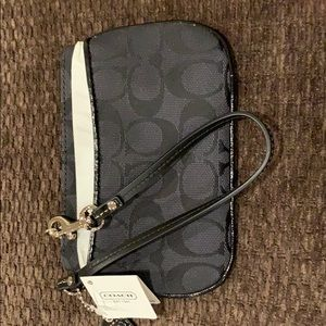 Coach Small Wristlet-Brand New